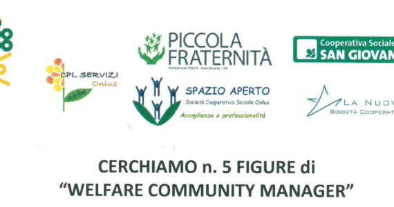 "CERCASI 5 ""WELFARE COMMUNITY MANAGER"""